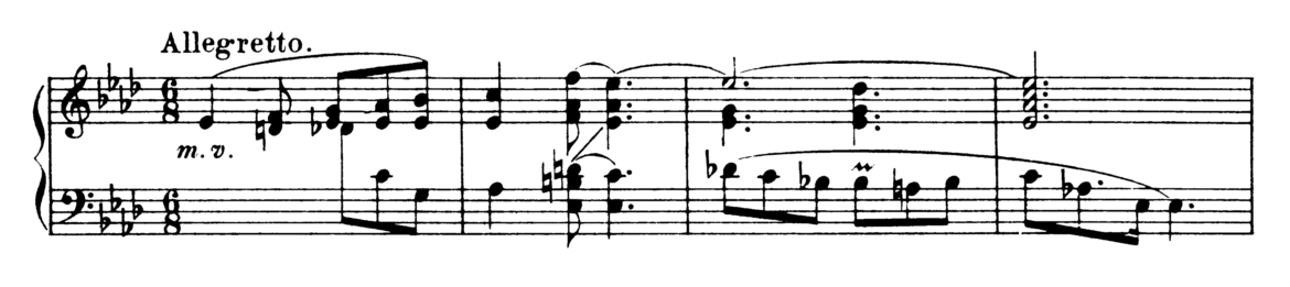 Chopin Ballade No.3 in Ab Major Op.47 Analysis