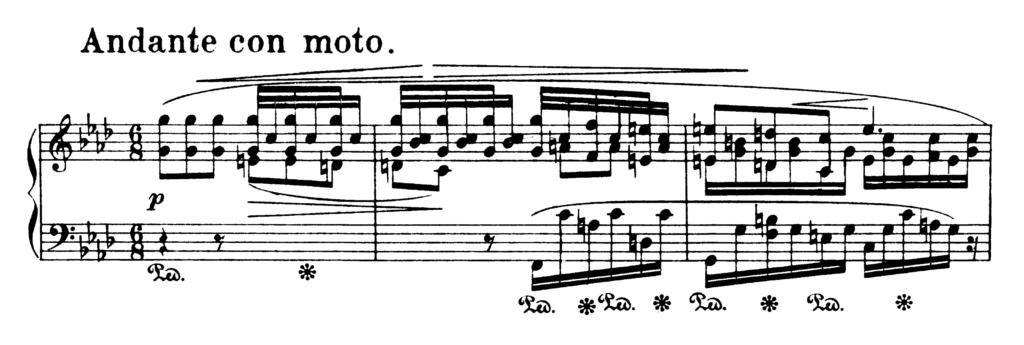 Chopin Ballade No.4 in F Minor Op.52 Analysis