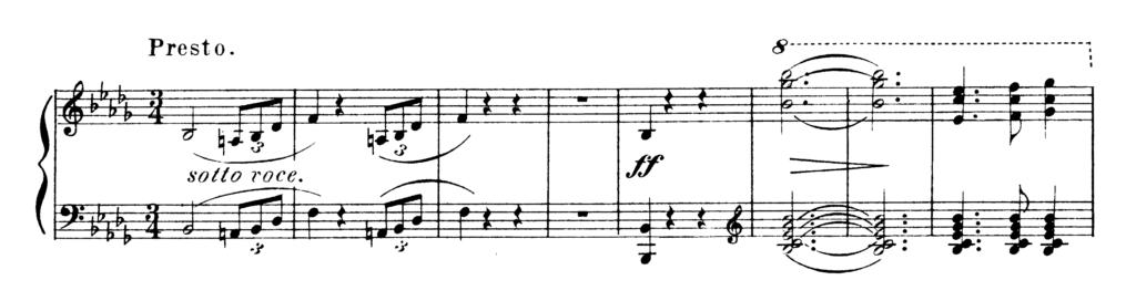 Chopin Scherzo No.2 in Bb Minor Op.31 Analysis