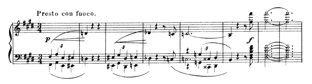 Chopin Scherzo No.3 in C# Minor Op.39 Analysis