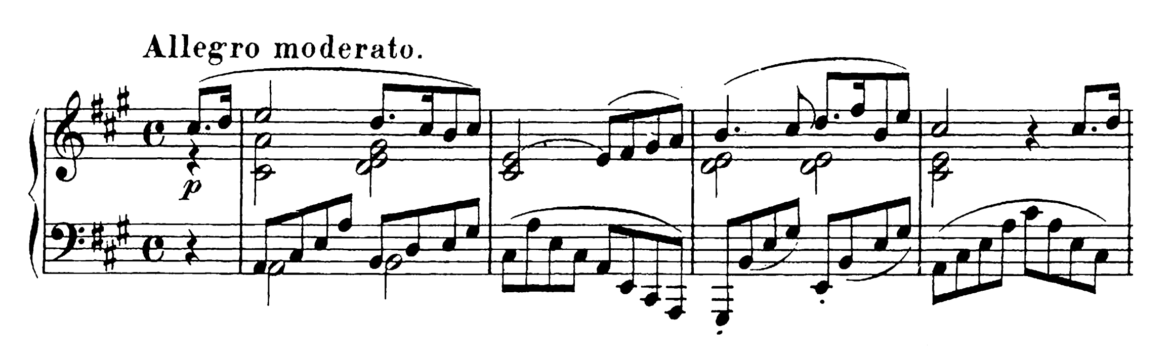 Schubert Piano Sonata in A Major D.664 Analysis 1