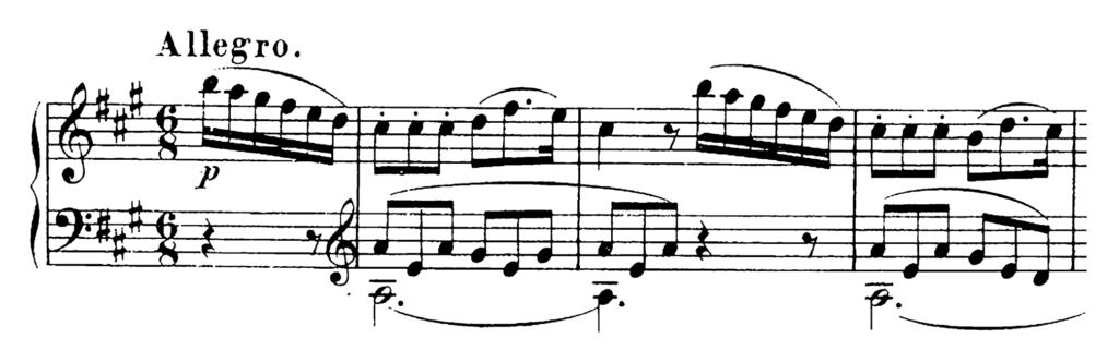 Schubert Piano Sonata in A Major D.664 Analysis 3