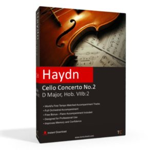 Haydn, Cello Concerto No.2, D Major, Hob. VIIb.2 Accompaniment