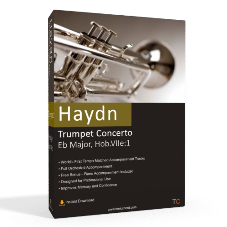 Haydn, Trumpet Concerto, Eb Major, Hob.VIIe1 Accompaniment