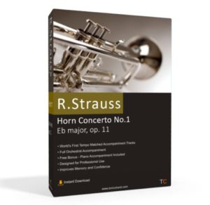 R. Strauss, Horn Concerto No.1, Eb major, op. 11 Accompaniment
